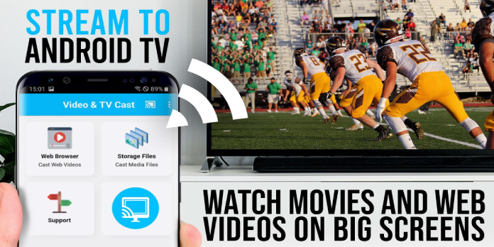 Cast Video to your Android TV