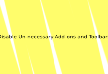 Disable Un-necessary Add-ons and Toolbars