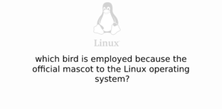 which bird is employed because the official mascot to the Linux operating system?