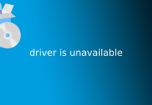 driver is unavailable