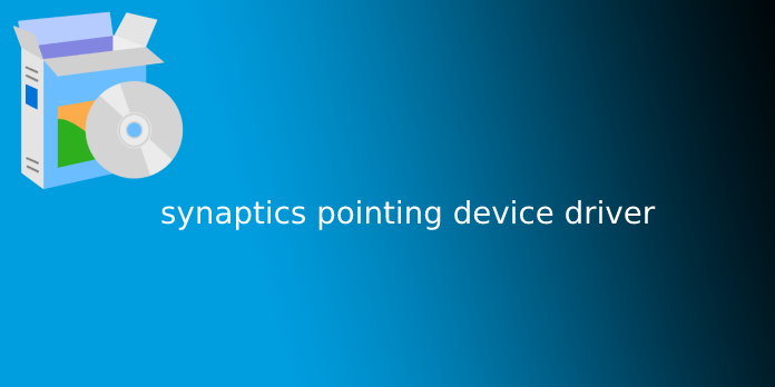 synaptics pointing device driver