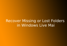 Recover Missing or Lost Folders in Windows Live Mail