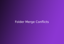 Folder Merge Conflicts