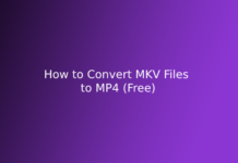 How to Convert MKV Files to MP4 (Free)