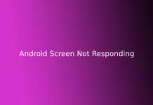 Android Screen Not Responding