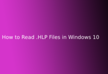 How to Read .HLP Files in Windows 10