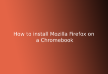 How to install Mozilla Firefox on a Chromebook