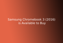Samsung Chromebook 3 (2016) is Available to Buy