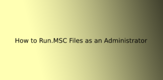 How to Run.MSC Files as an Administrator