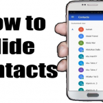 How to Hide Your Contacts on an Android Phone